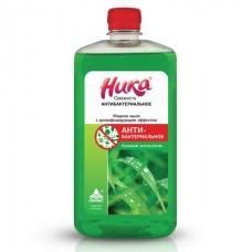 Мыло жидкое с дезинфицирующим эффектом «Ника-свежесть антибактериальное» (1л)